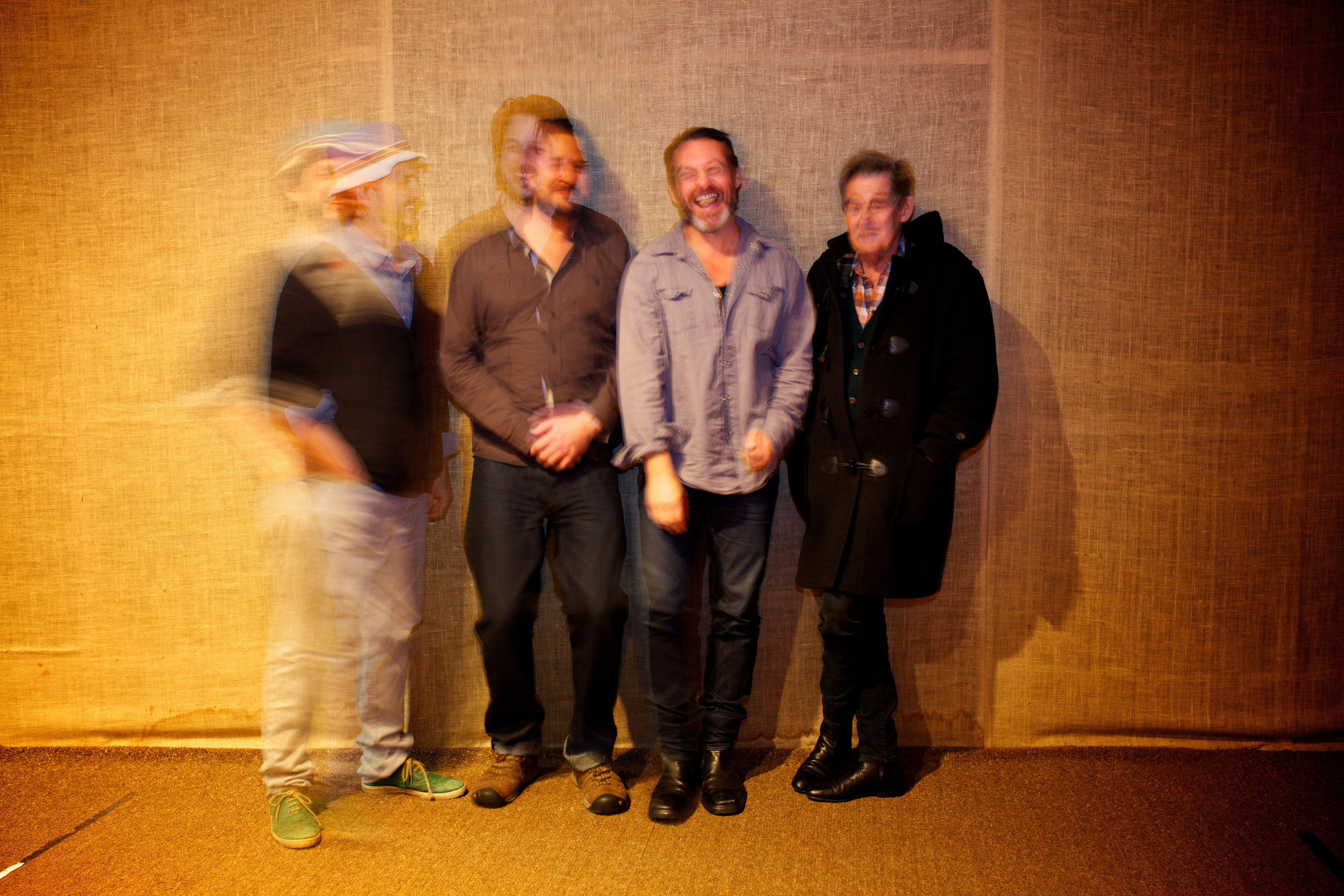 Photo by J.Zwartz - L-R: Barney McAll, Julien Wilson, Jonathan Zwartz, Allan Browne - Click on photo to download 300DPI copy