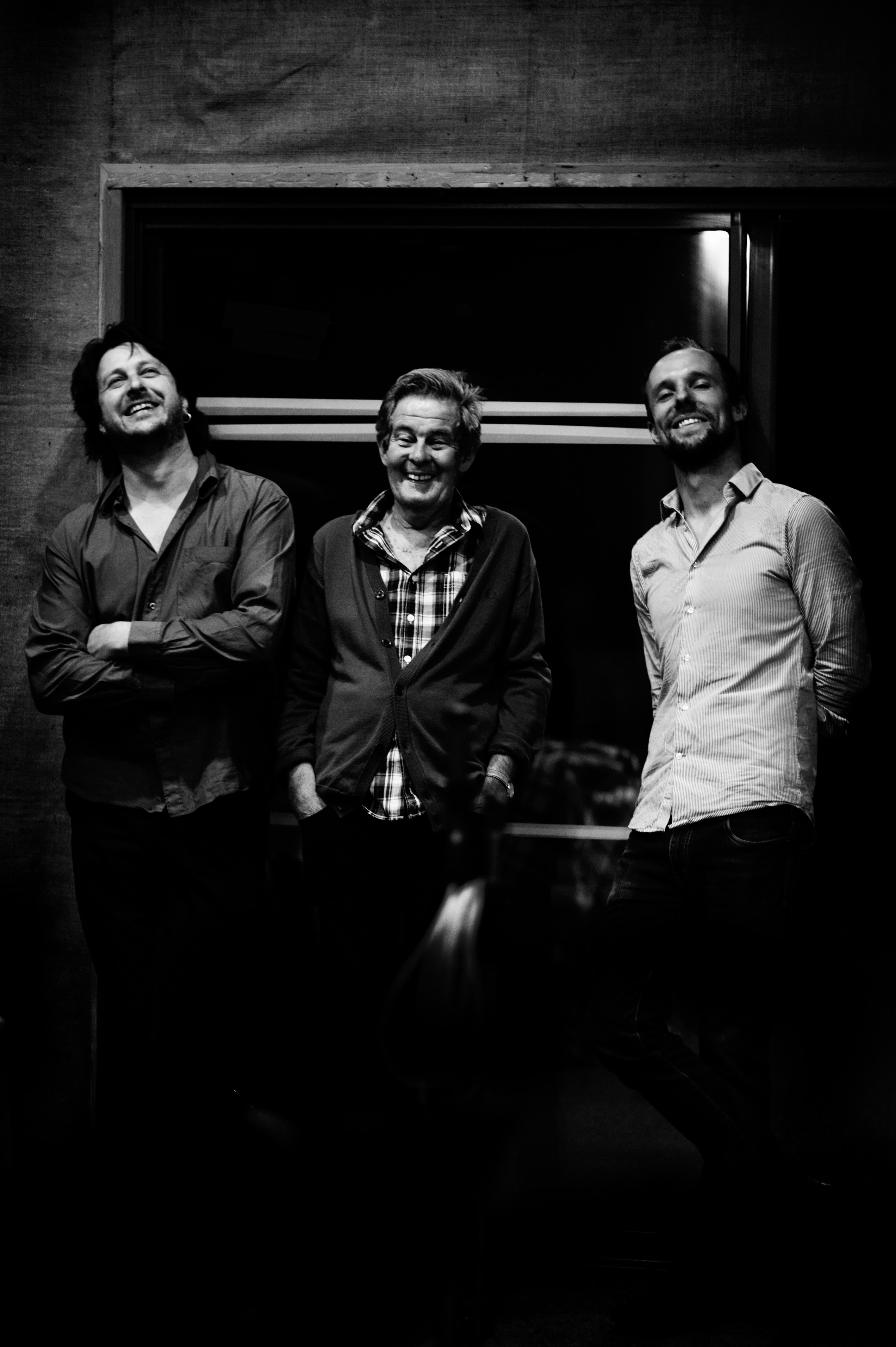Sam Anning/Julien Wilson/Allan Browne - click on the photo to download a 300dpi copy
